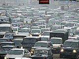 Московские автомобилисты перекрыли МКАД, выступив против повышения транспортного налога