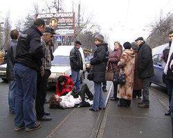 Помощник военного прокурора избил пешехода на юго-западе Москвы