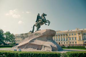 Описание путешествия из Москвы в Санкт-Петербург