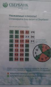 Сбербанк выразил отказ в обслуживании клиентов в большинстве отделений в Москве
