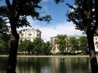 Чистые пруды - популярное место отдыха