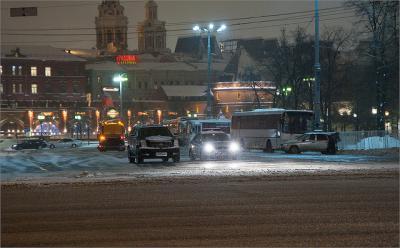 Современное состояние транспорта в Москве