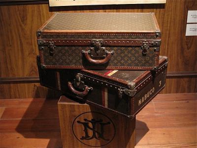 Приключения чемодана и выставка Louis Vuitton